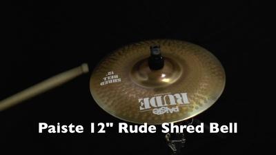 Paiste 12 Rude Shred Bell,