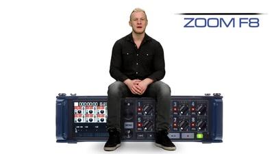 Zoom F8 - 8-Kanal 10-Spur Field-Audiorecorder