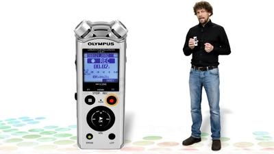 Olympus LS-P1 - portabler Digitalrekorder