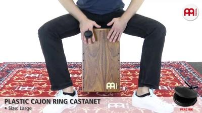 Meinl Plastic Cajon Ring Kastagnette