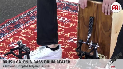 Meinl Brush Cajon + Bass Drum Beater