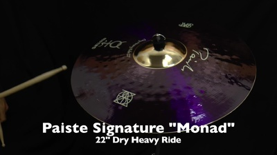 Paiste Signature 22 Dry Heavy Ride Monad