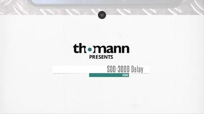 SDD-3000 Delay Pedal