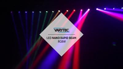 Varytec LED Nano Rapid Beam RGBW