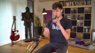 Goldon Lotus Flute