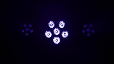 Varytec BAT.PAR 6 RGBUV