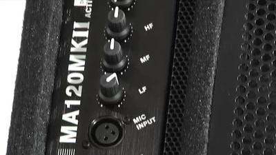 The t.box MA120 Mk II Aktiver 2-Wege Monitor