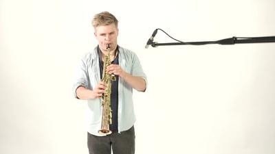 Thomann TSS-350 Sopran Saxophon