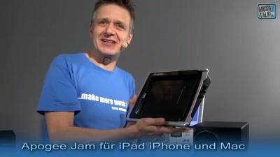 Apogee Jam Gitarren Interface fuer iPad iPhone und Mac - MusoTalk.TV