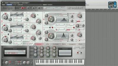 Waldorf Largo Synthesizer - MusoTalk.TV